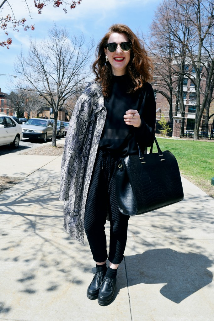 STYLE ADVICE OF THE WEEK: Aristocratic Runway Ensemble