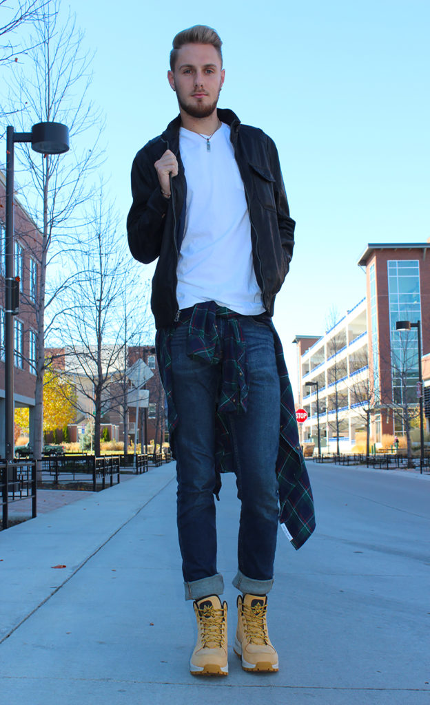 WHAT TO WEAR: Leaves and Layers