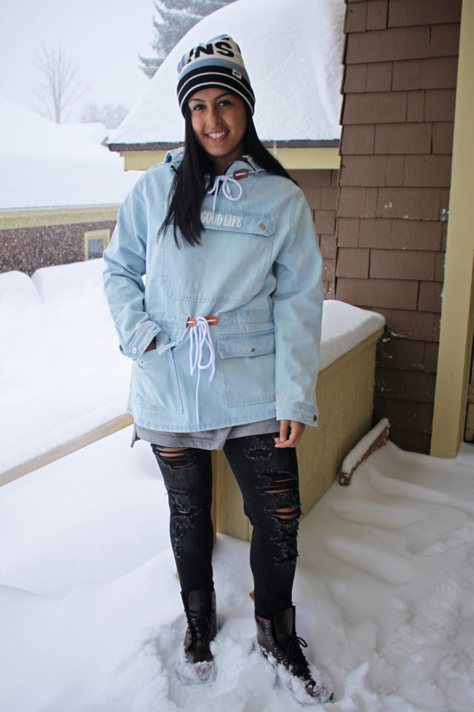 WHAT TO WEAR: A Snow Day with Storm Stella