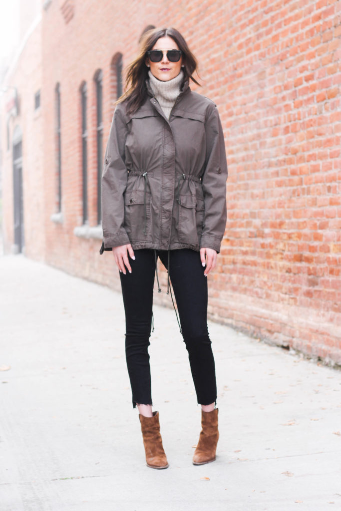 WHAT TO WEAR: Sunny and Cold Outings