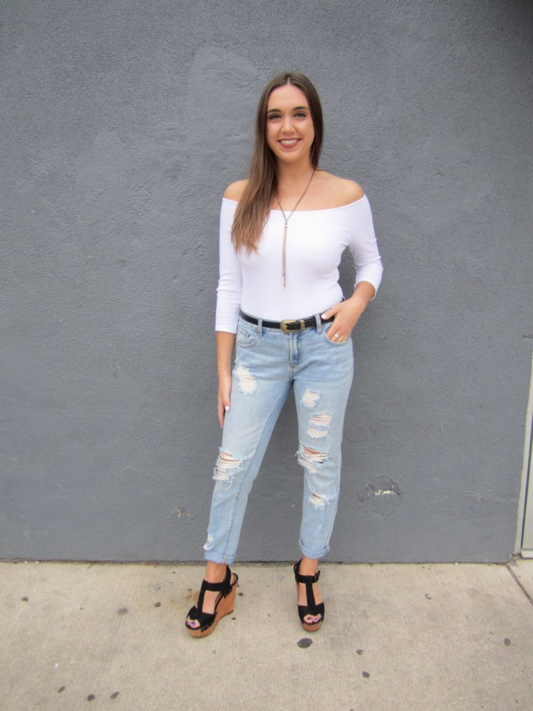 ALL IN THE DETAILS: Off-the-shoulder Love