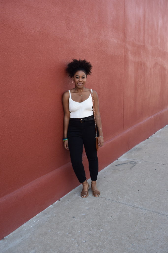 How To Wear Black Denim in the Summer