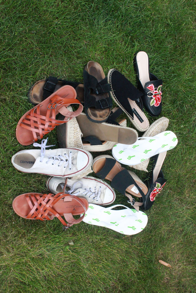 The Only 4 Shoes You Need This Summer