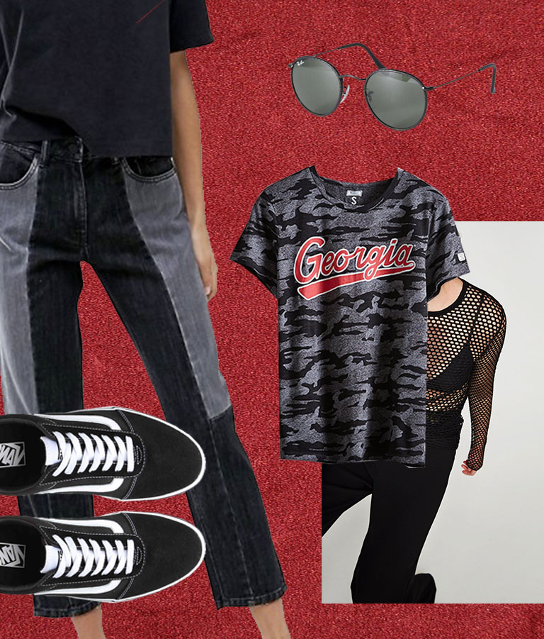 georgia game day outfit