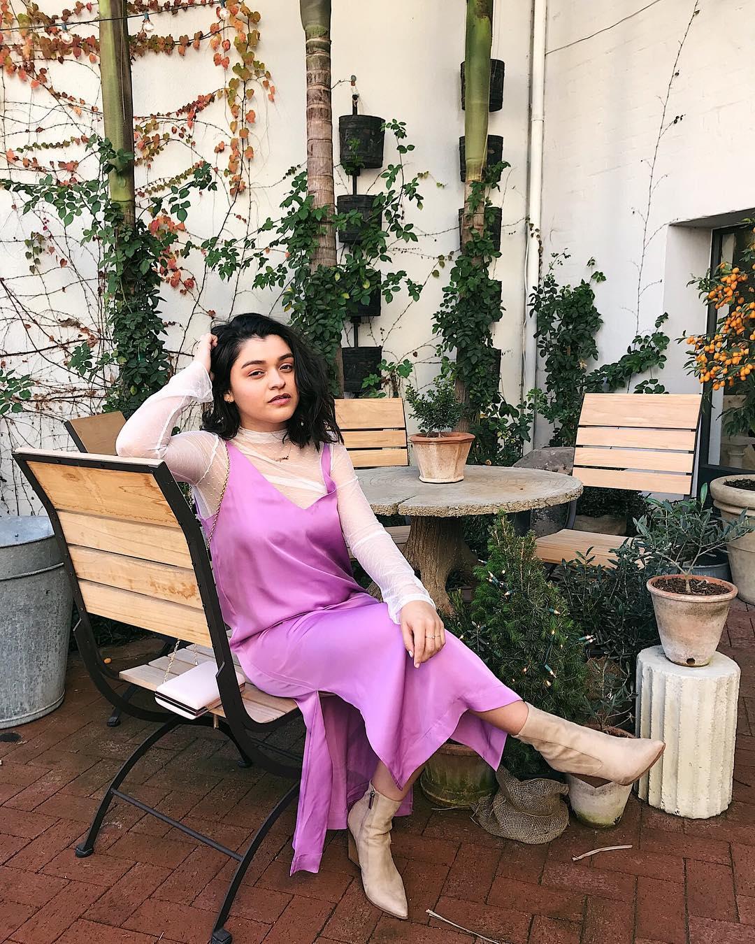Bright Pink Slip Dress for Spring Formal
