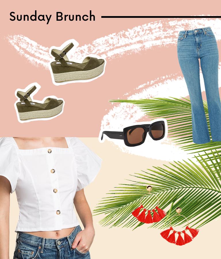 Spring Break Brunch Outfit