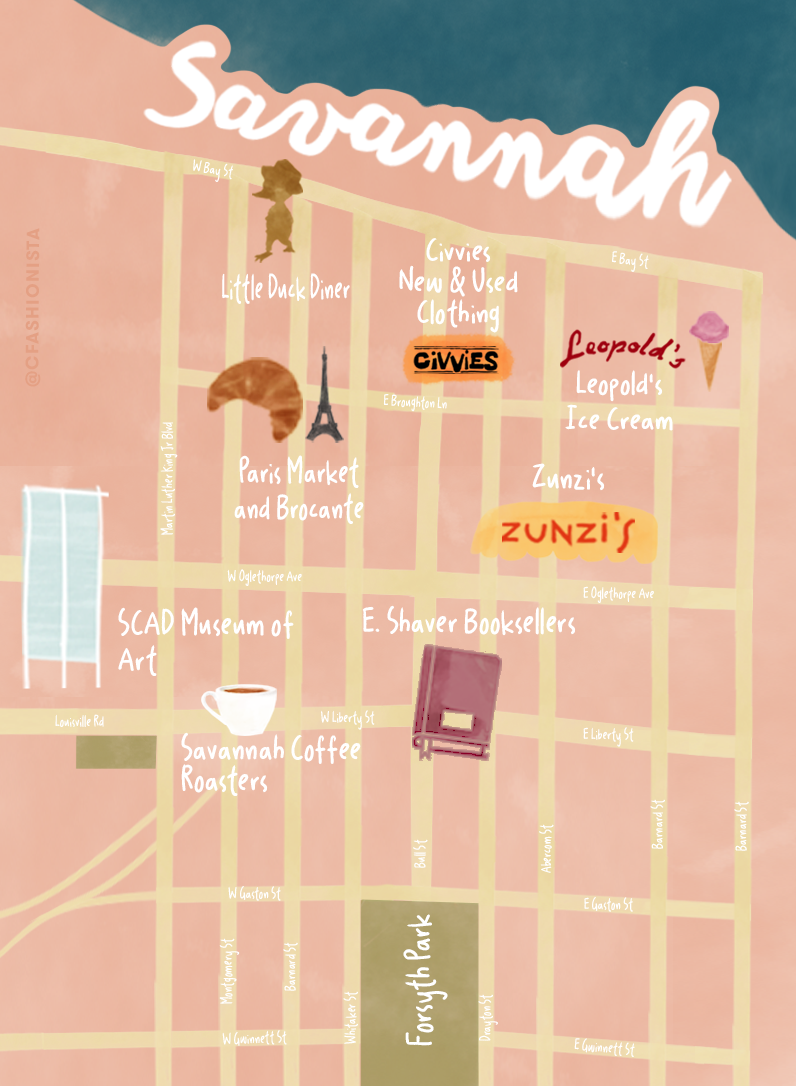 SCAD Student's Guide to Savannah, Georgia