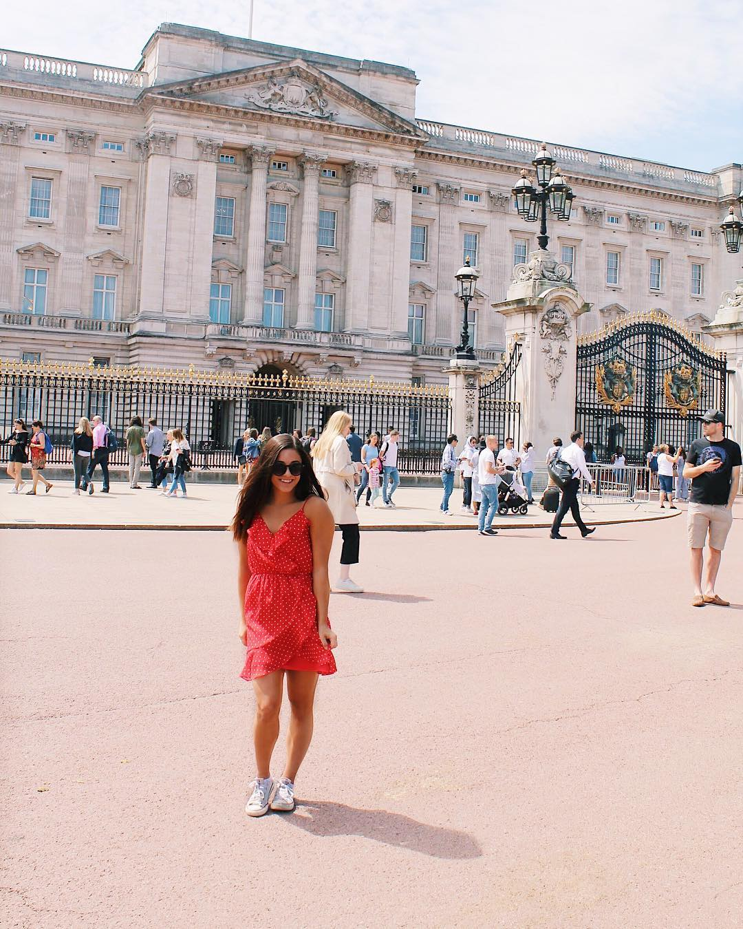 London Study Abroad Dress Outfit