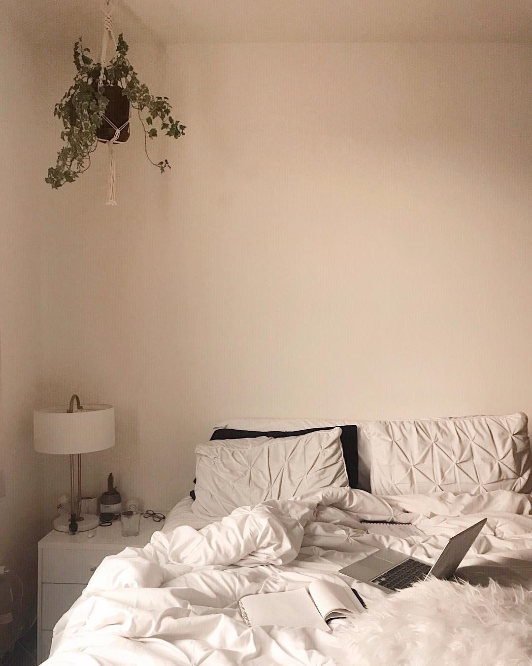 neutral dorm decor