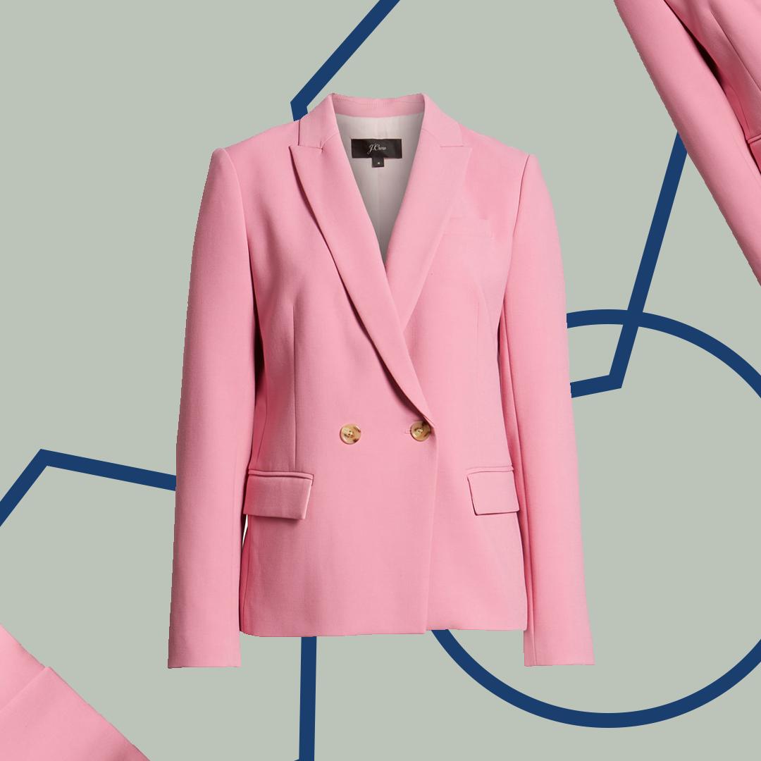 Nordstrom Anniversary Sale Pink Blazer
