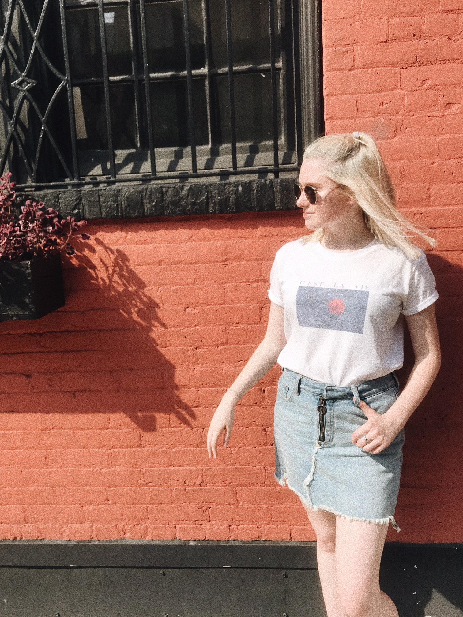 New York City Fashion Lesson Rewear Pieces